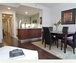 Trendy 1 bedroom,1 bathroom in Chelsea. Direct view of Empire State Building, Dark Espresso Hardwood Floors, Floor to Ceiling Windows, Stainless Steel Appliances, Washer/Dryer in Apt, White Granite Kitchen.