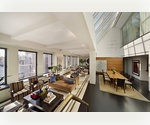 Fully Furnished Duplex Loft Penthouse in Chelsea for Rent