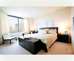 HUGE Luxury 1 Bedroom,1 Marble Bathroom in the Financial District. Convertible to 2 bdrm. Granite Kitchen! Walk-in closet, Washer/Dryer.